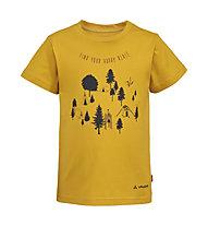 Vaude Lezza - T-Shirt - Kinder, Yellow