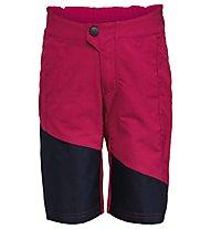 Vaude Kids Moab - pantaloncino mtb - bambino, Red/Blue