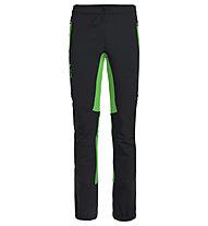 Vaude Larice Light - pantaloni sci alpinismo - uomo, Black/Green