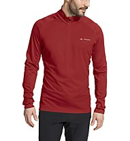 Vaude Larice Light - felpa in pile - uomo, Red
