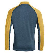 Vaude Larice Light - felpa in pile - uomo, Yellow/Blue