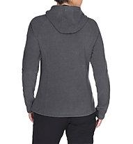 Vaude Lasta - giacca in pile con cappuccio - donna, Grey