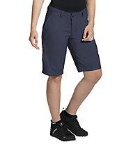 Vaude Ledro Shorts - Radhose MTB - Damen, Dark Blue