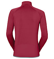 Vaude Livigno - Fleecepullover mit Reißverschluss - Damen, Red