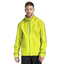 Vaude Luminum II - giacca bici - uomo, Yellow