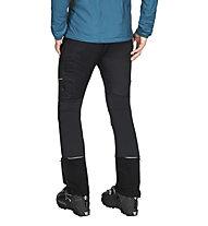 Vaude M Bormio Touring III - pantaloni scialpinismo - uomo, Black/Black