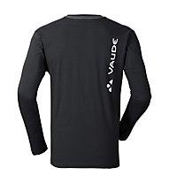 Vaude M Brand LS - Langarmshirt - Herren, Black