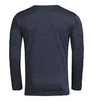 Vaude M Essential LS - Langarmshirt - Herren, Blue