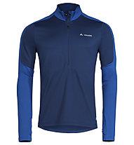 Vaude Livigno Halfzip II - Pullover - Herren, Blue
