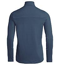 Vaude Livigno Halfzip II - Pullover - Herren, Blue/Blue