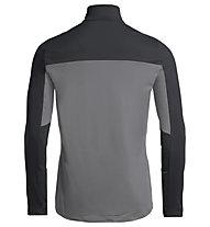 Vaude Livigno Halfzip II - Pullover - Herren, Grey/Black/Blue