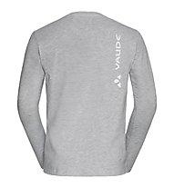 Vaude M Brand LS - Langarmshirt - Herren, Light Grey
