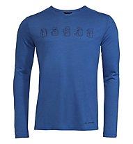 Vaude M Rosemoor LS II - maglia a maniche lunghe - uomo, Blue
