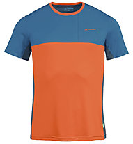 Vaude Scopi - t-shirt - uomo, Blue/Orange