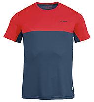 Vaude Scopi - T-Shirt - Herren, Blue/Red