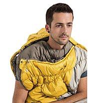Vaude Meglis 300 - Kunstfaserschlafsack, Yellow/Grey