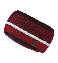Vaude Melbu Headband IV Fascia Paraorecchie Alpinismo, Red