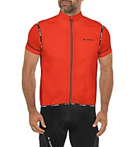 Vaude Men's Air Vest II Gilet ciclismo, Glowing Red