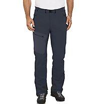 Vaude Badile II - pantaloni lunghi softshell trekking - uomo, Blue