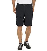 Vaude Men's Badile Shorts Herren Wanderhose kurz, Black/White