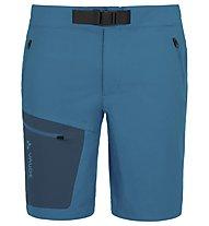 Vaude Men's Badile Shorts Herren Wanderhose kurz, Blue/Navy