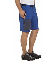 Vaude Men's Badile Shorts Herren Wanderhose kurz, Light Blue/Blue