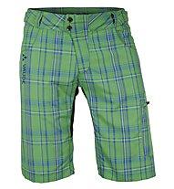 Vaude Men's Craggy Pants Pantaloni corti MTB, Grasshopper