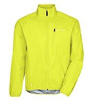 Vaude Drop III - giacca bici - uomo, Yellow