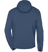 Vaude Men's Durance Hooded Jacket - Softshelljacke mit Kapuze Herren, Blue