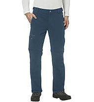 Vaude Farley II - pantaloni zip-off - uomo, Blue