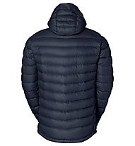 Vaude Kabru Hooded Jacke II, Blue