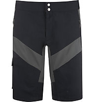Vaude Maro - pantaloni zip-off bici - uomo, Black/Grey