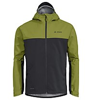 Vaude Men's Moab - Regenjacke Bike - Herren, Green/Black