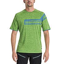 Vaude Men's Moab Shirt V - Radtrikot - Herren, Green