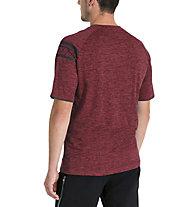 Vaude Men's Moab Shirt V - Radtrikot - Herren, Red
