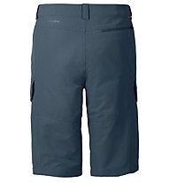 Vaude Rokua Bermuda II Pantaloni corti trekking, Dark Petrol/Blue Saphire