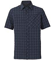Vaude Men's Seiland Shirt -Kurzarm-Trekkinghemd Herren, Blue
