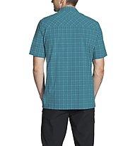 Vaude Men's Seiland Shirt -Kurzarm-Trekkinghemd Herren, Light Blue