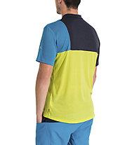 Vaude Men's Tremalzo Shirt V - Radtrikot - Herren, Green