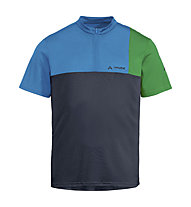 Vaude Men's Tremalzo Shirt V - Radtrikot - Herren, Blue