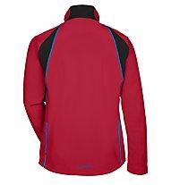 Vaude Men's Virt Softshell Mountainbike-Jacke, Indian Red