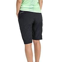 Vaude Qimsa Shorts - pantaloncino mtb - donna, Black
