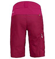 Vaude Qimsa Shorts - pantaloncino mtb - donna, Red