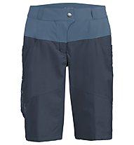 Vaude Qimsa Shorts - pantaloncino mtb - donna, Blue