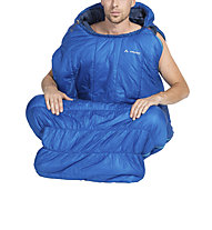 Vaude Säntis 1200 SYN - sacco a pelo sintetico, Blue