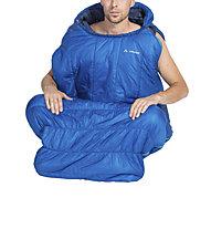 Vaude Säntis 450 SYN - Kunstfaserschlafsack, Blue
