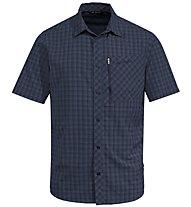 Vaude Seiland II - camicia a maniche corte - uomo, Dark Blue