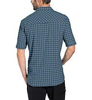 Vaude Seiland II - camicia a maniche corte - uomo, Blue