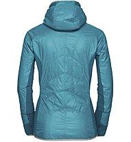 Vaude Sesvenna II - gefütterte Skitourenjacke mit Kapuze - Damen, Light Blue