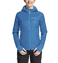 Vaude Sesvenna III - giacca con cappuccio - donna, Light Blue/White
